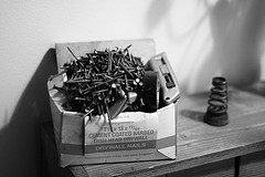 Box of Drywall Nails